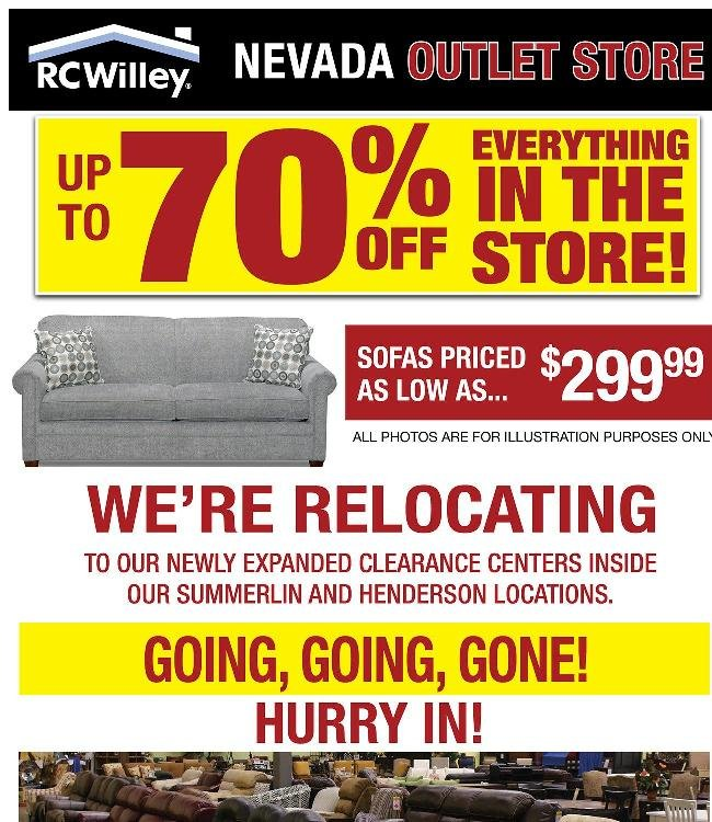 It's going, going, gone! Hurry in before it's too late!
