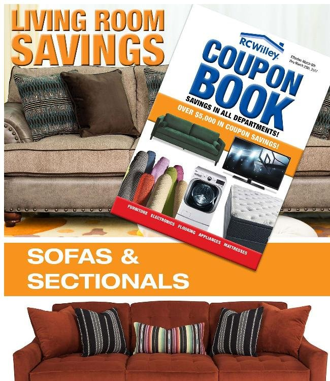 Take Advantage of Coupon Book Savings for the Living Room