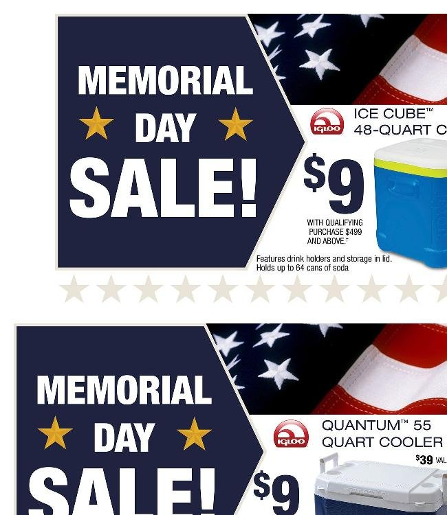 It's Not Memorial Day yet, but the Savings Start Today