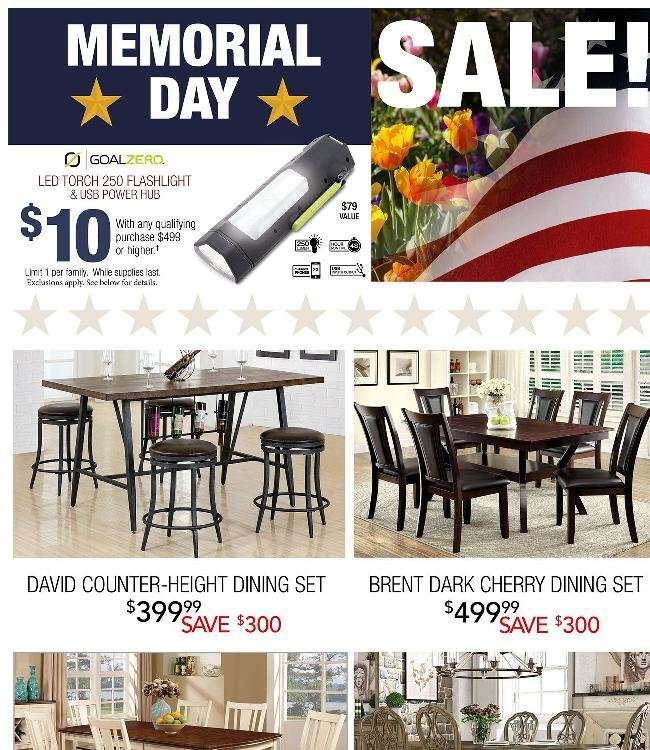 This Is The Time To Buy. Major Memorial Day Savings!