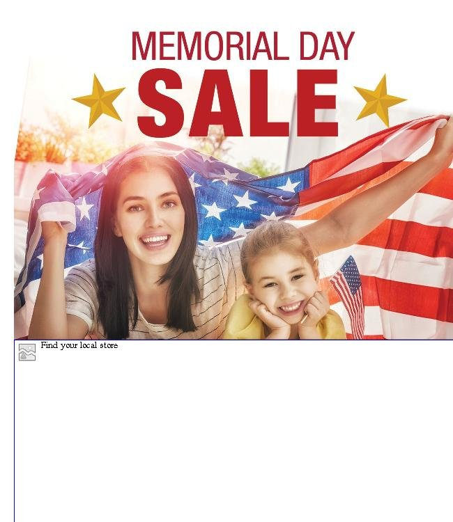 HUGE Memorial Day Savings on Patio and More