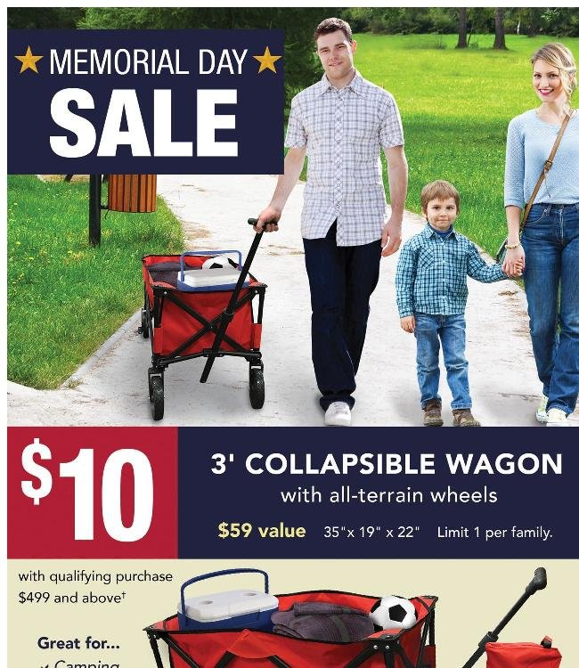 More Memorial Day Deals - While Supplies Last