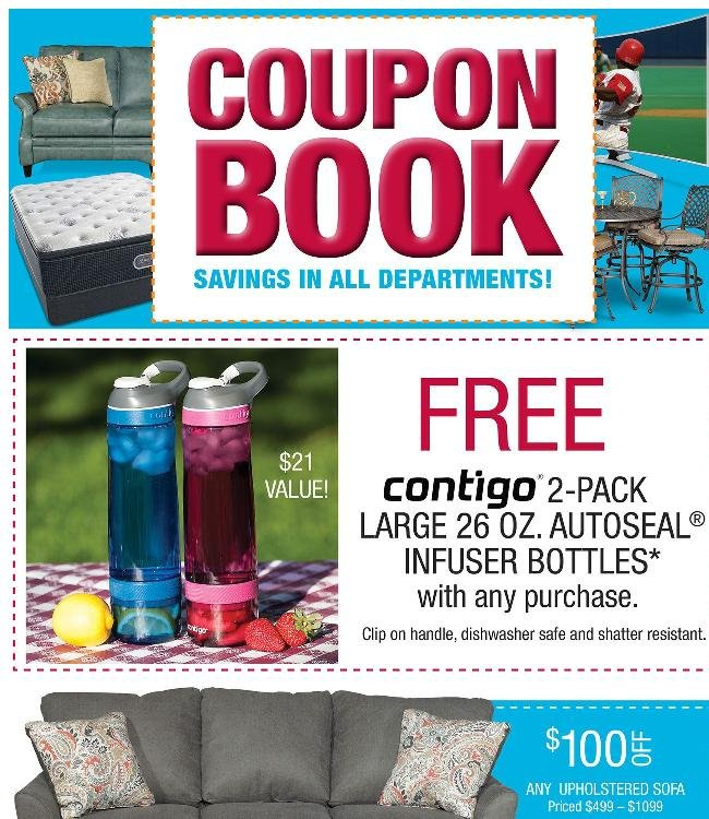 Coupon Book Starts Now. Time to Clip and Save!