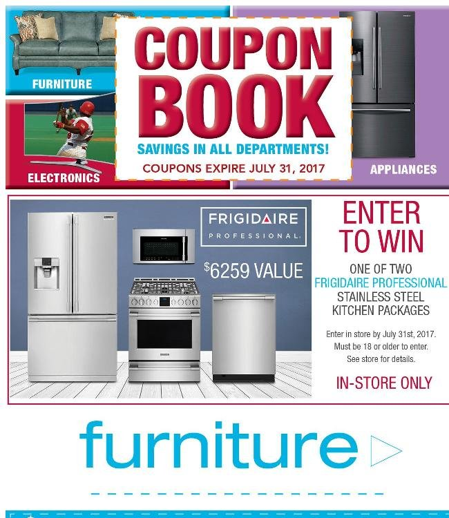 Coupon Book Savings in All Departments