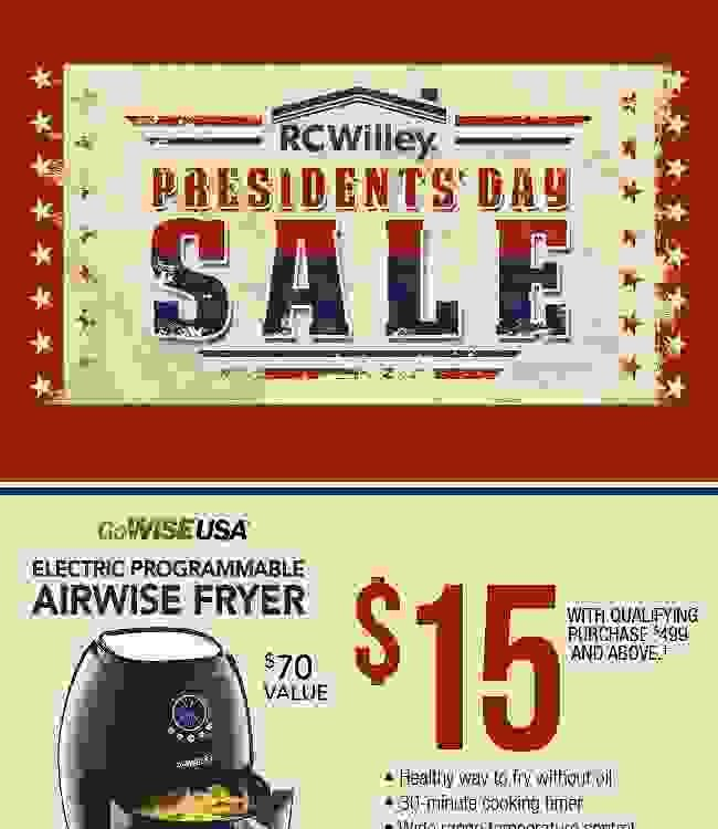 Presidents Day Sale! Create a Presidential Bedroom Suite and Save!