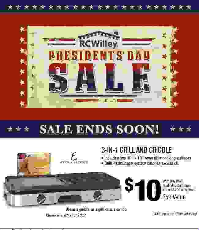 There're Term Limits on These Savings! President's Day Sale Ends Soon!