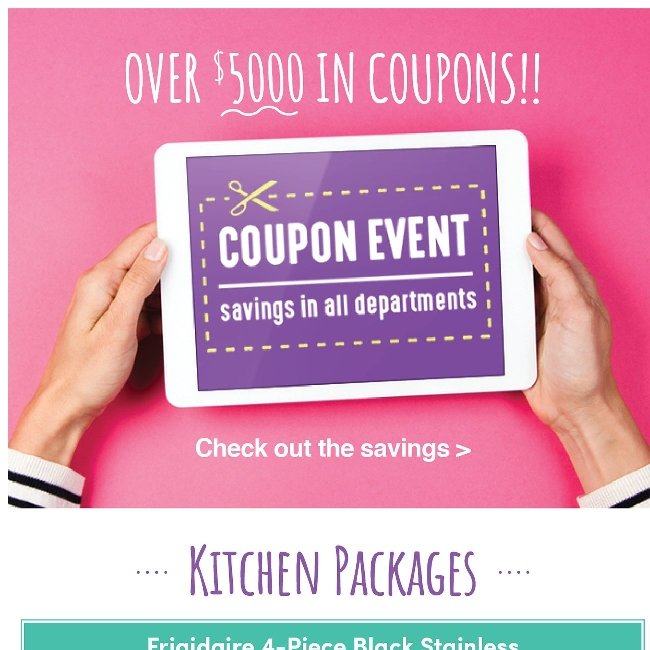 These Exclusive Kitchen Coupons Will Expire in One Week - Shop Now!