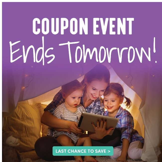 Last Chance! the Coupons Expire Tomorrow. Use Them While You Can!