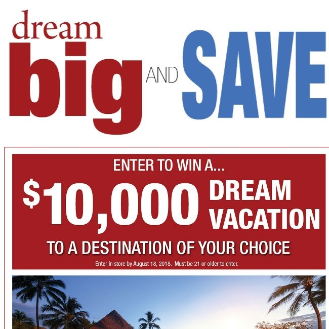 Hi ${firstName}. It's Time to Dream Big and Save!
