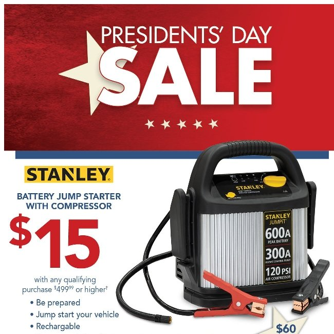 Presidents' Day Sale! Click Here to Save Big!