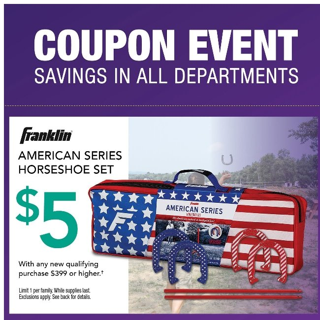 Coupons in Every Department. Find Yours Today