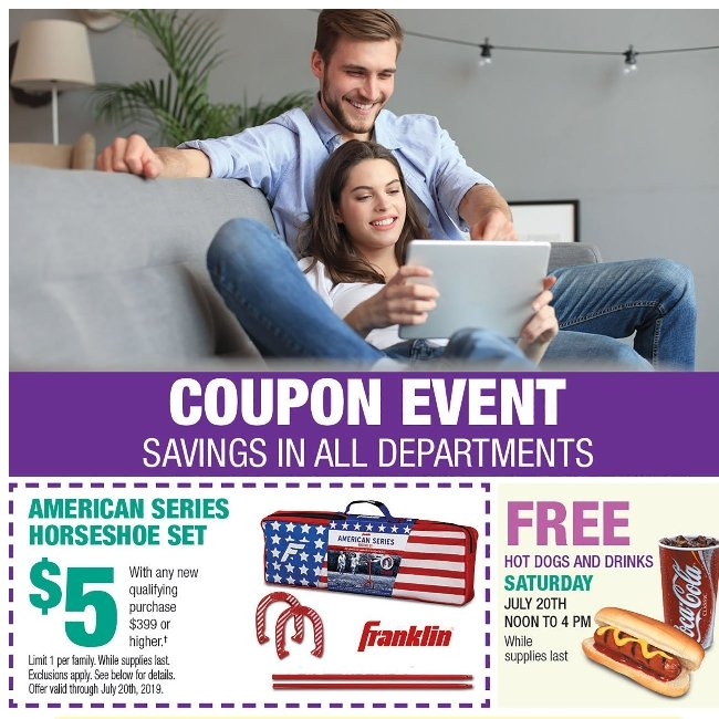 Calling All Coupon Clippers! Save up to $200 on Furniture & More.