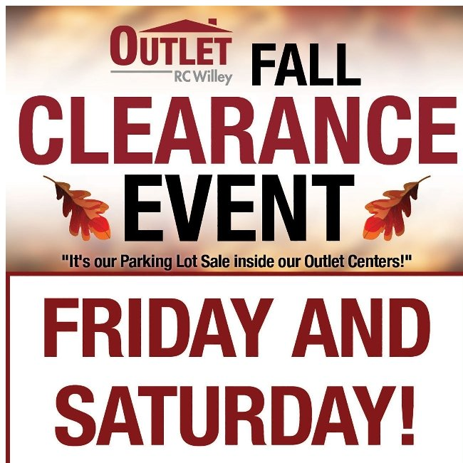 You Can Save up to 70% at Our Fall Clearance Event!