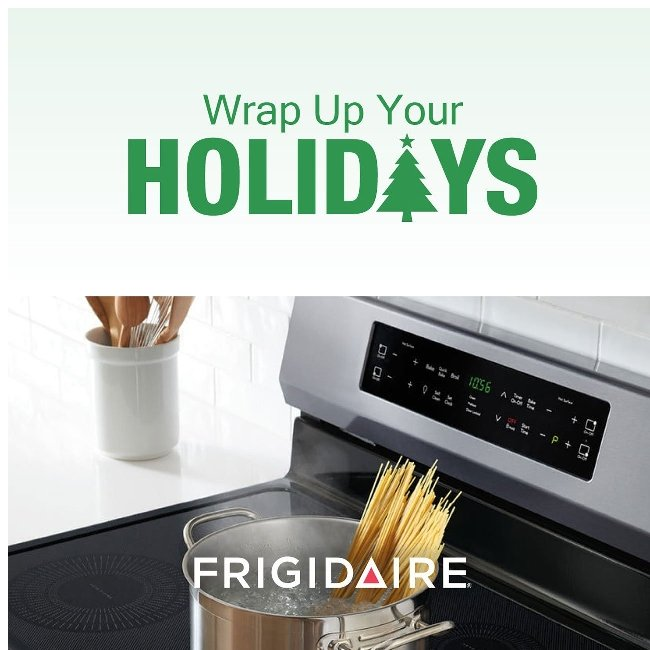 Frigidaire Induction Makes Holiday Cooking Easy! 🍗