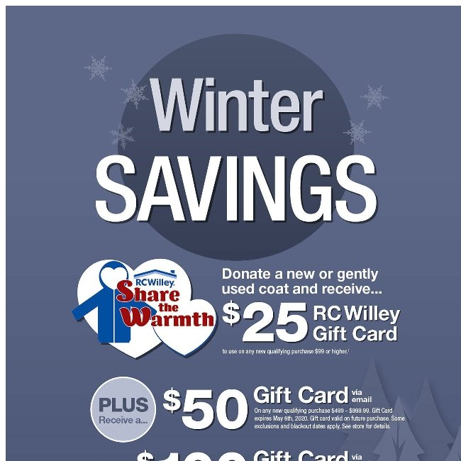 Share the Warmth for a $25 Gift Card!