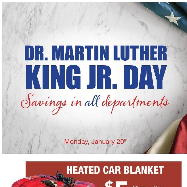 Celebrate Dr. Martin Luther King Jr. Day