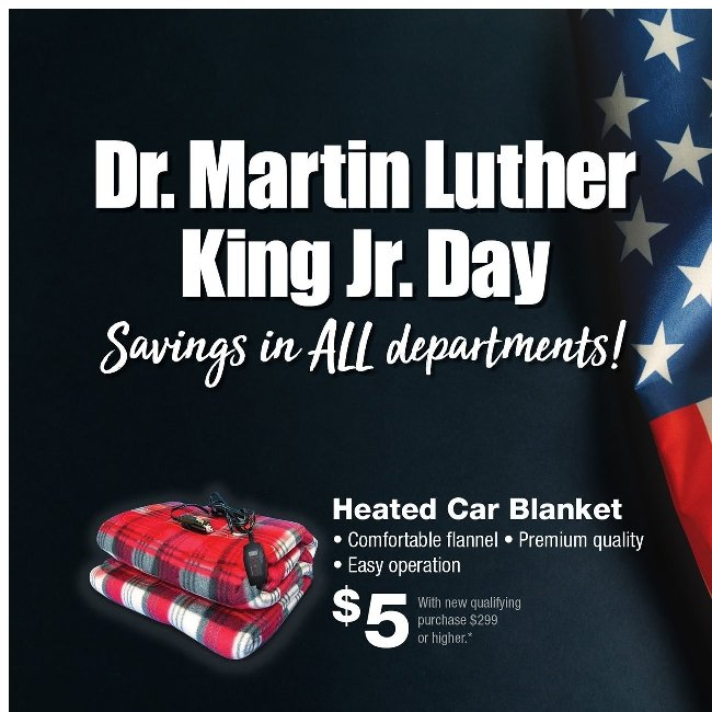 You're About to Miss Our Dr. Martin Luther King Jr. Day Event!