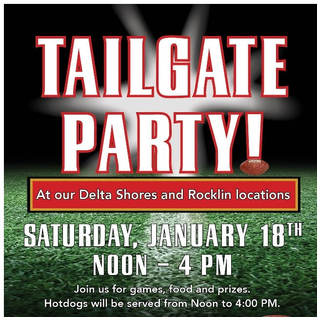 Tailgate Party! Enter to Win T-shirts, Footballs and More!