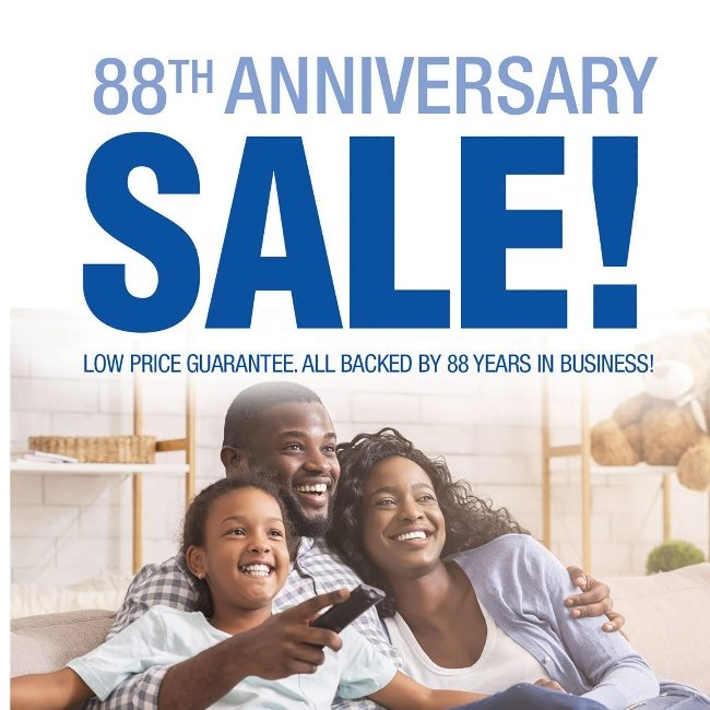 Anniversary Sale! + Save up to 40% on Stainmaster!