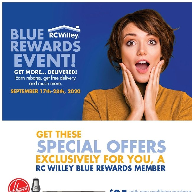 Hi ${firstName}, Here are Blue Rewards Special Offers Just For You!