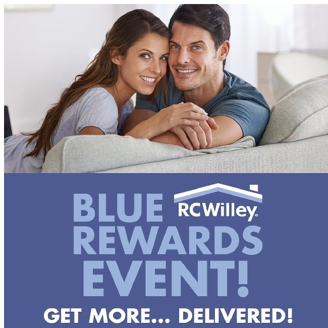 Blue Rewards Event! Earn Rebates, Get Free Delivery and Much More!