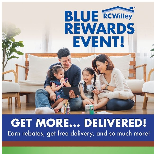 Blue Rewards Event! Get Free Delivery! Learn More.