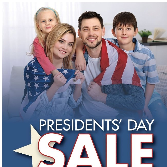 Get Great TVs With Great Prices During Our Presidents' Day Sale!