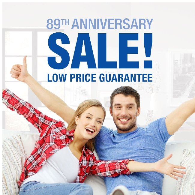 Anniversary Sale! Click to See These Sofas, Sectionals, TVs and More!