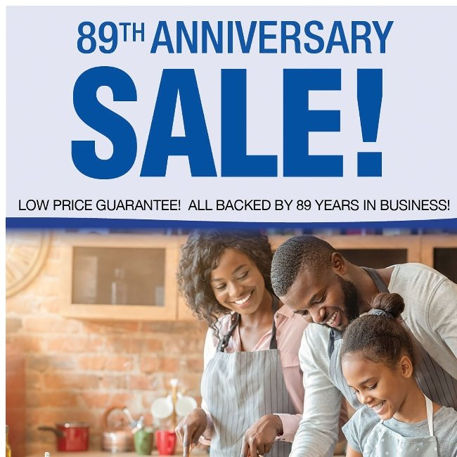 Anniversary Sale! Kitchen Necessities and More!