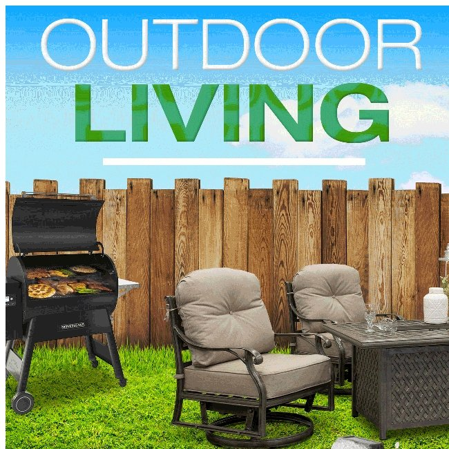 Outdoor Living! Create your Outdoor Space!