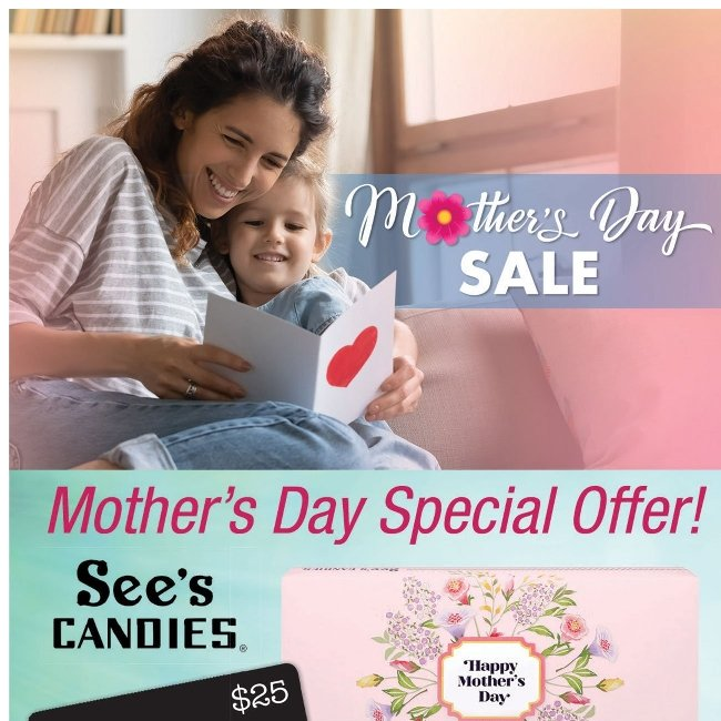 Great Mother's Day Gift Ideas! Click Here.