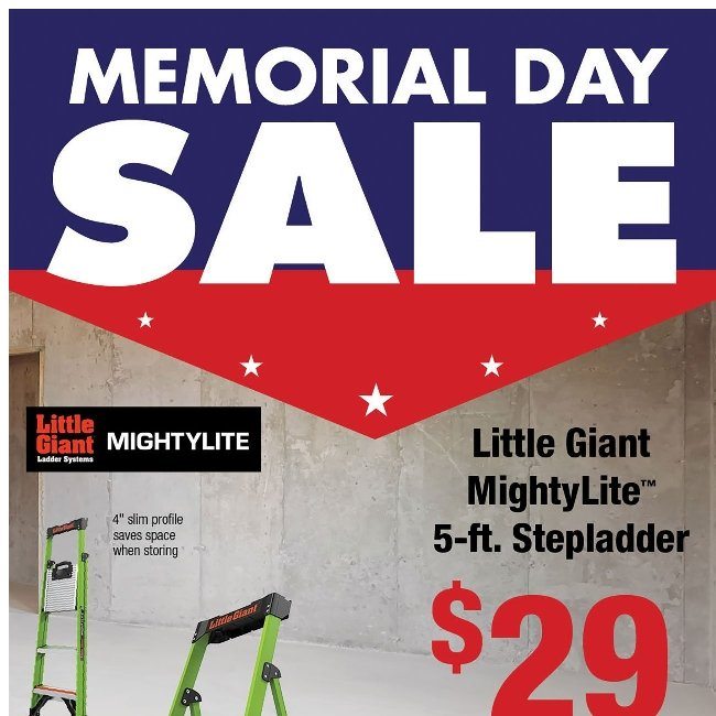 Memorial Day Sale! Upgrade Your Outdoors and Save Big!