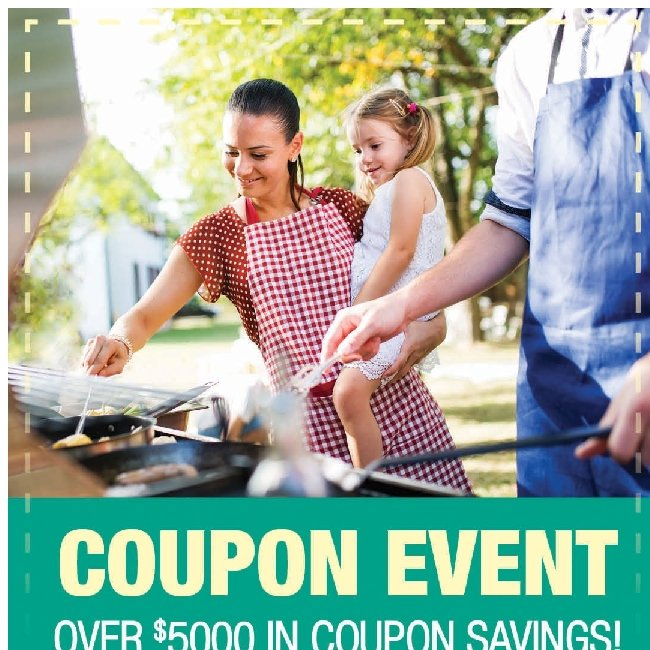 Coupon Event! Get Over $5,000 in Savings!