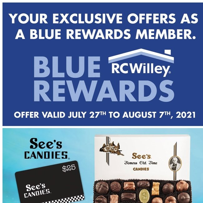 Hi ${firstName}, Check Out These Exclusive Blue Rewards Offers
