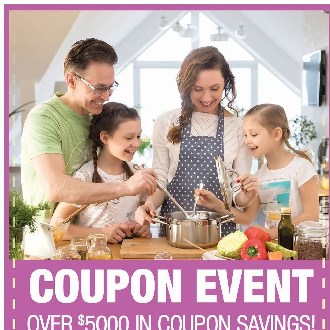Over $5,000 in Coupon Savings Makes Enjoying the Summer Easy!