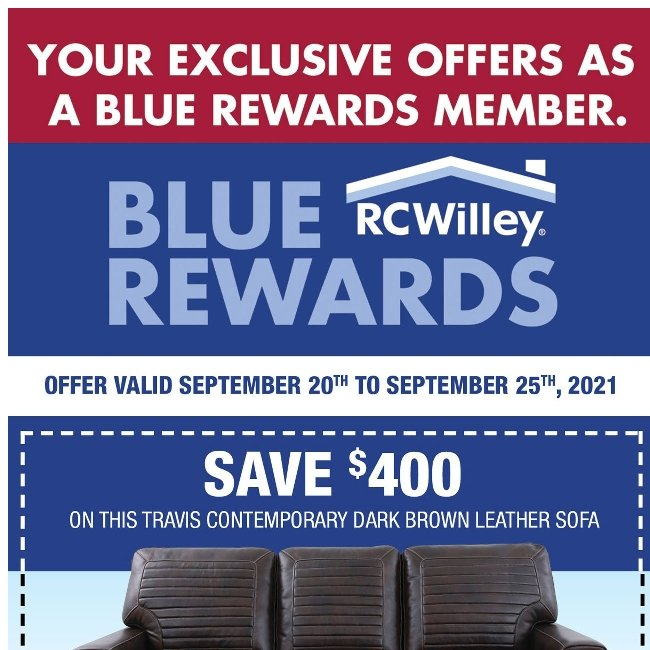 Hi ${firstName}, Here are Some Exclusive Blue Rewards Offers!