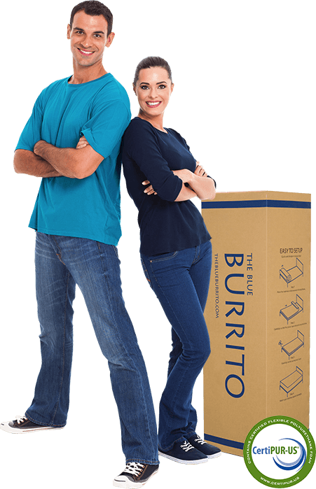 Couple with the box