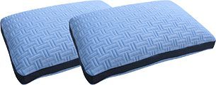 The Blue Burrito pillow