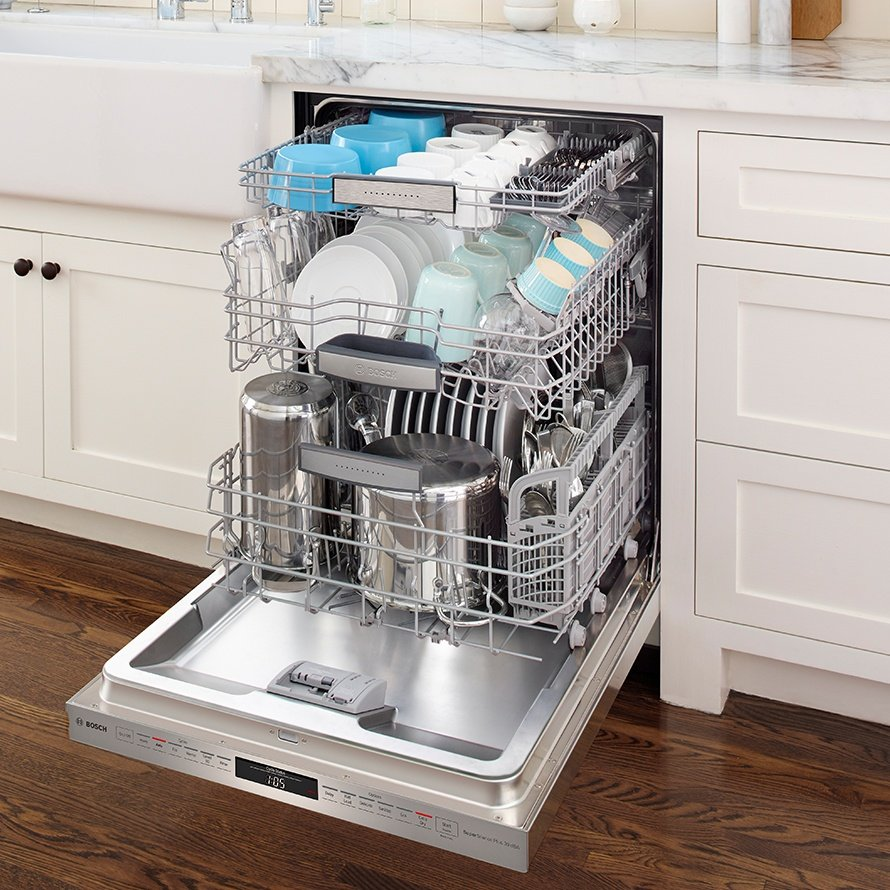 Bosch Dishwashers for a spot-free shine