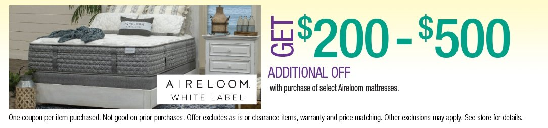 Save up to an additional $500 on Aireloom