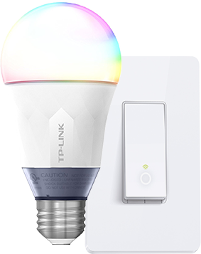 Smart lightbulbs and light switches