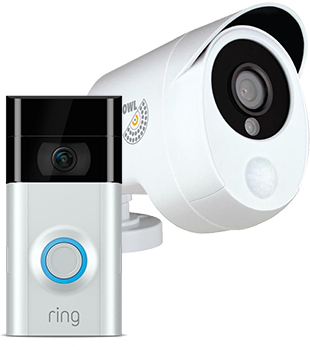 Smart doorbells and security cameras