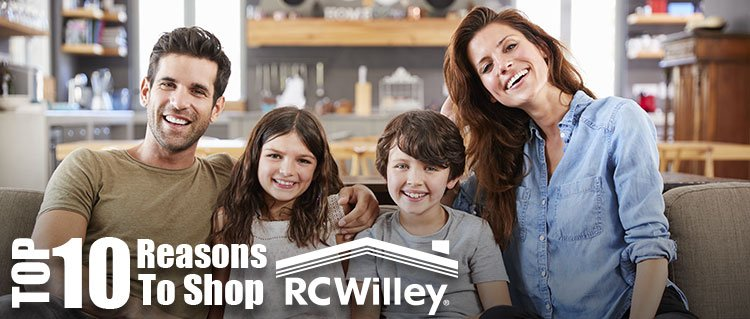 Top 10 Reasons to Shop RC Willey
