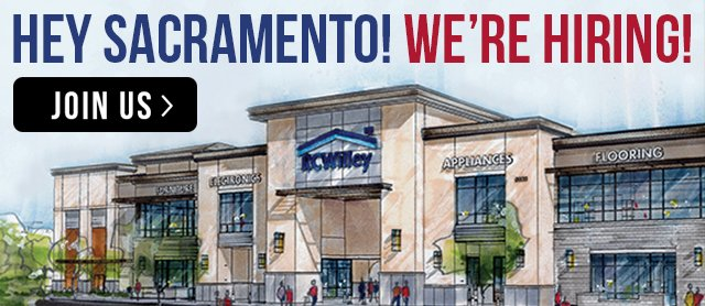 Now hiring in Sacremento, CA for the new Delta Shores location!