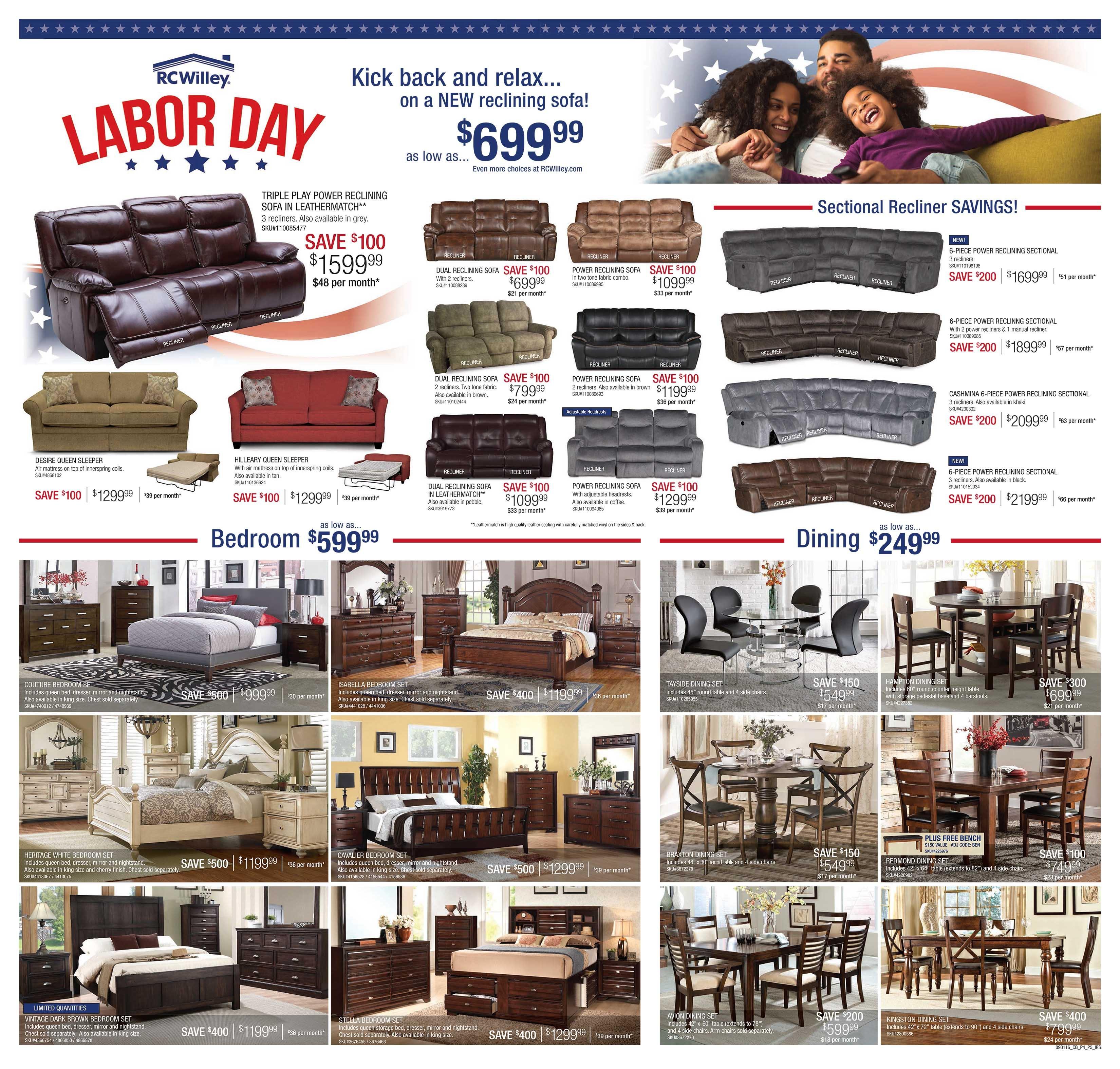 labor day furniture sales las vegas