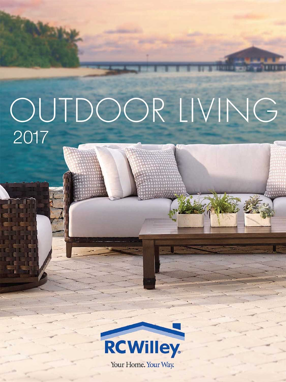 Outdoor Living - Spring 2017 Patio Catalog   RC Willey ... on Outdoor Living Shop id=42238