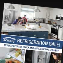 Monthly Category Spotlight: Refrigeration Sale at RC Willey!
