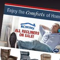 Monthly Category Spotlight: All Recliners on Sale at RC Willey!
