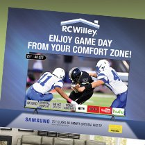 Monthly Category Spotlight: TVs and Home Theaters at RC Willey!