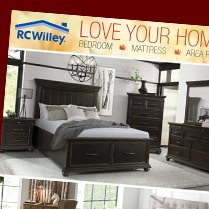 Monthly Category Spotlight: Rugs, Mattresses, and Bedroom Furniture on Sale at RC Willey!